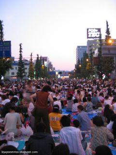Feu d'artifice à Sendai