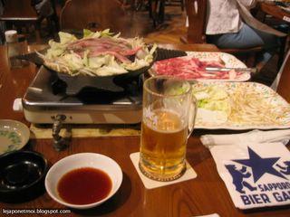 Une des spécialités de Hokkaidô - Le Gingiskan