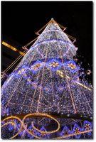 Décorations de Noël à Hamamatsu