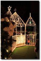 Décorations de Noël à la tour de Tôkyô