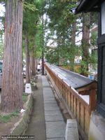 Quartier des temples Zenringai à Hirosaki