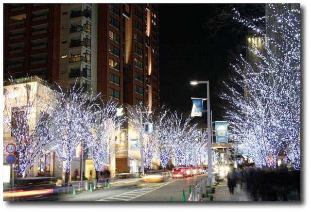 Décorations de Noël à Roppongi Hills