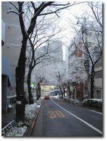 Tôkyô sous la neige