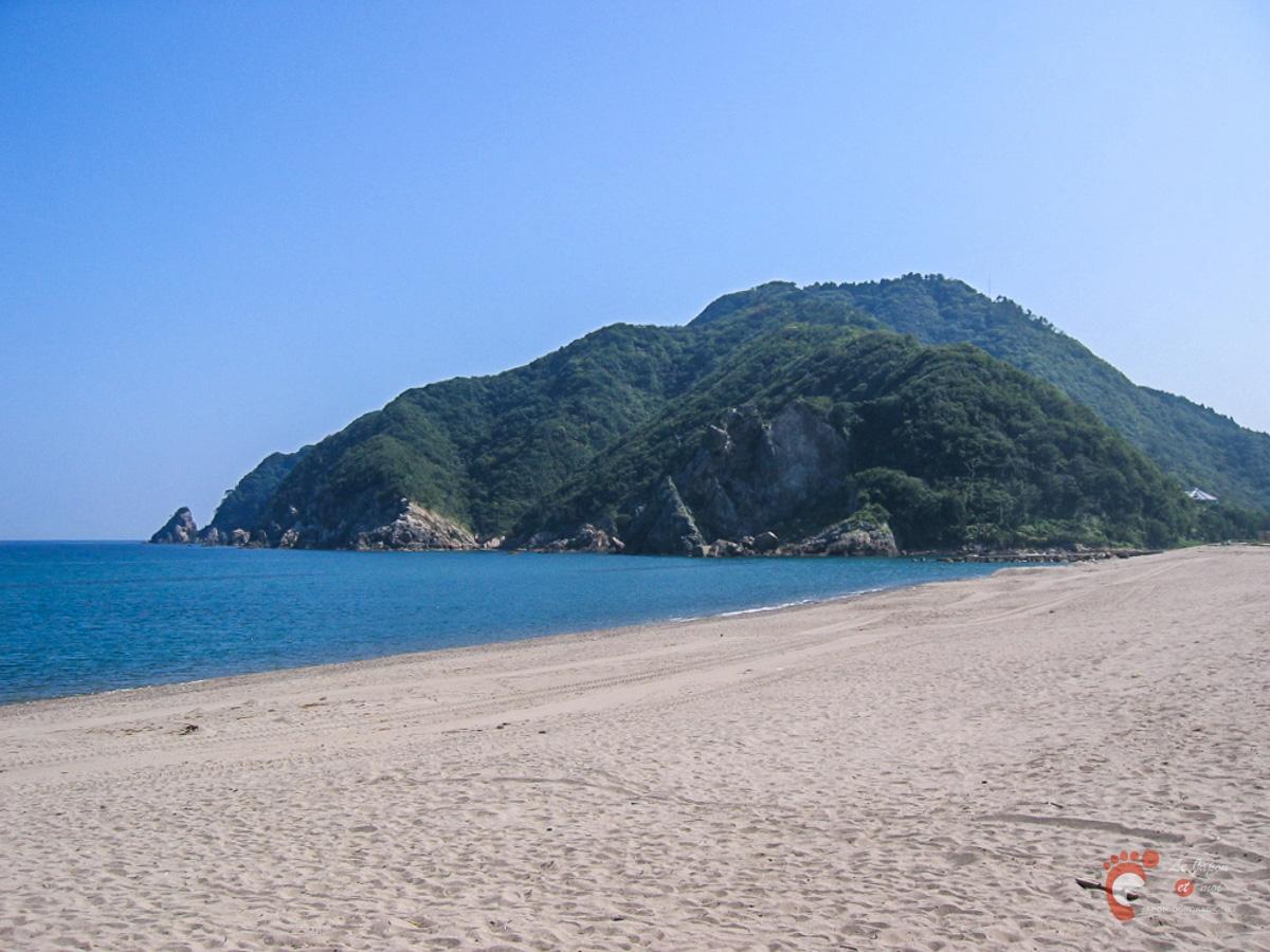 Sur les plages de la mer du Japon