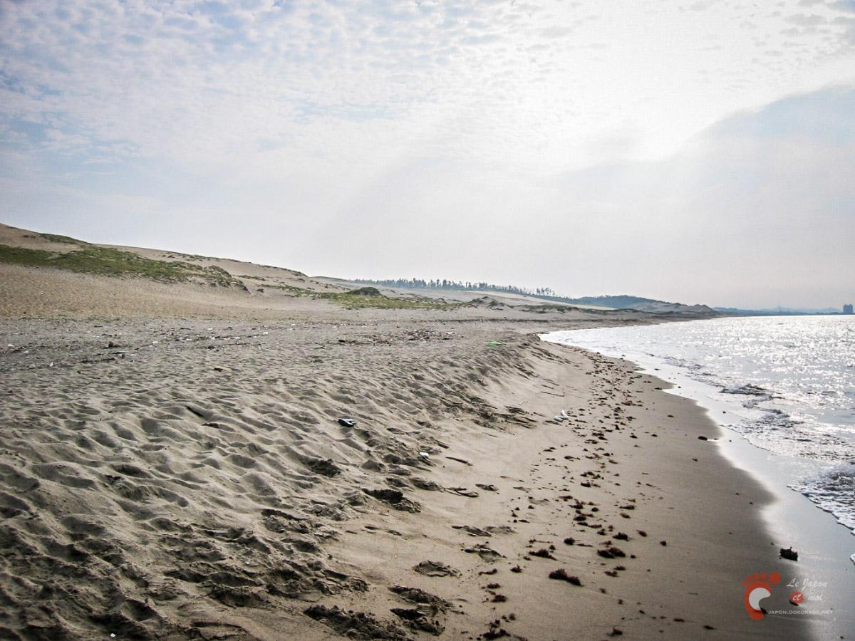 Les dunes de sable de Tottori