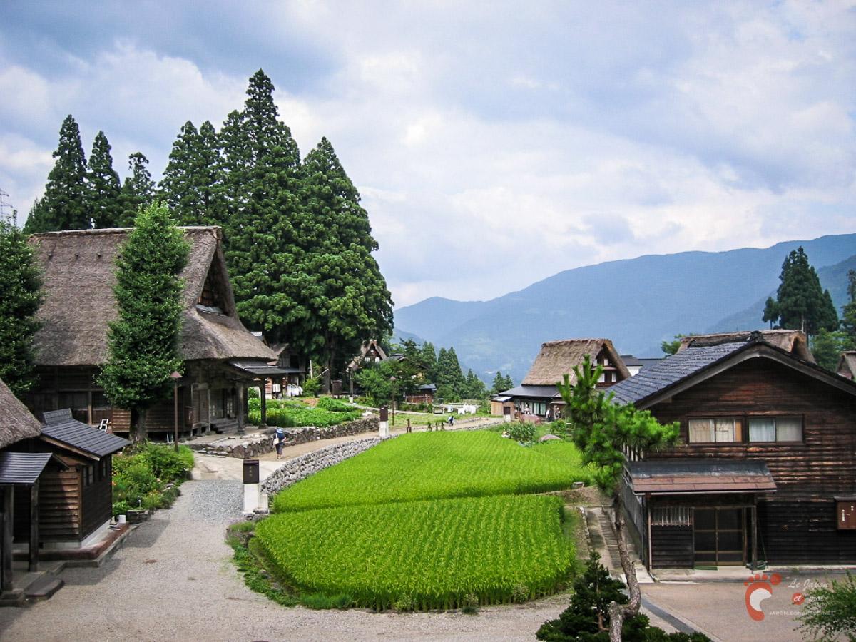 Le village de Ainokura
