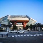 La gare ultra-moderne de Kanazawa