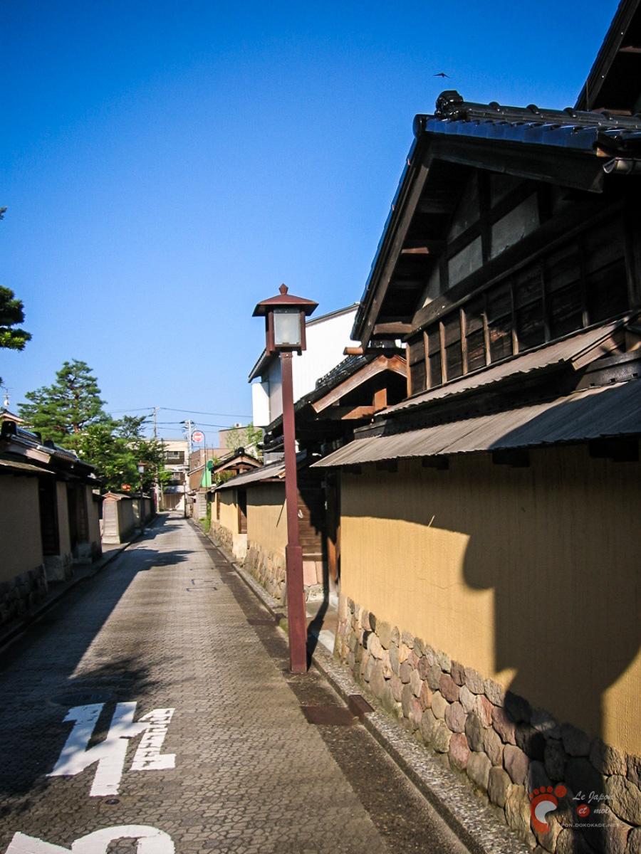 Le quartier Nagamachi et ses maisons de samurai à Kanazawa