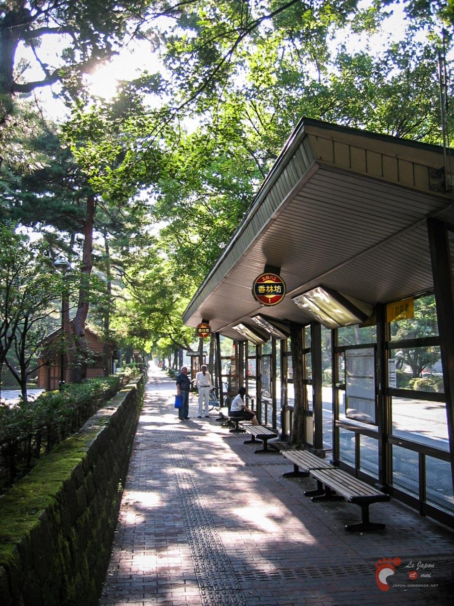 Dans les rues de Kanazawa