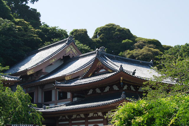 Temple Hasedera à Kamakura - Salle Kannon-dô