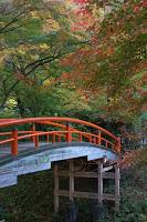 Ville de Ikaho avec ses sources d'eau chaude et le pont Kajika