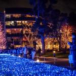 Illuminations des jardins de Tôkyô Midtown