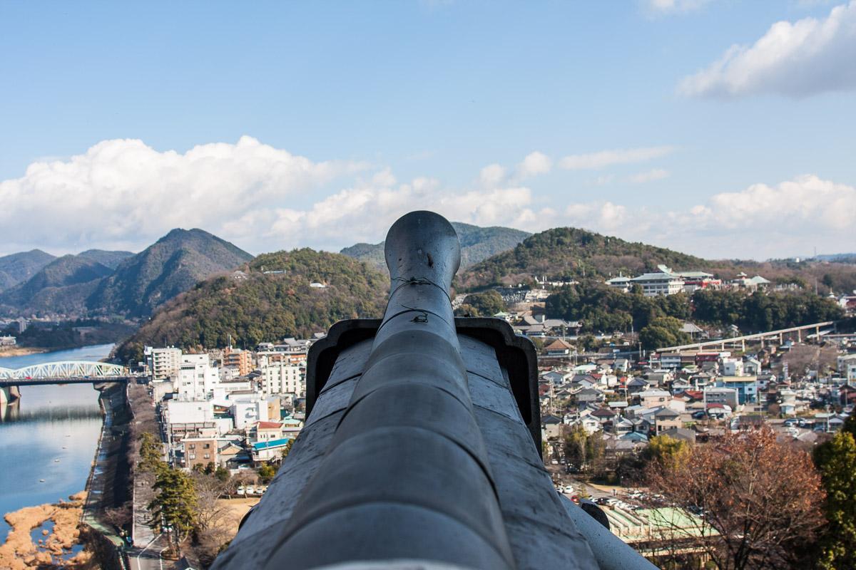 La vue depuis le château d'Inuyama