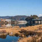 Sur les berges du fleuve Kiso - Inuyama