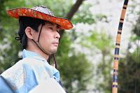 Démonstration de yabusame dans l'enceinte du temple Tsurugaoka Hachimangû à Kamakura - Qui a dit que l'esprit du bushidô était perdu ?