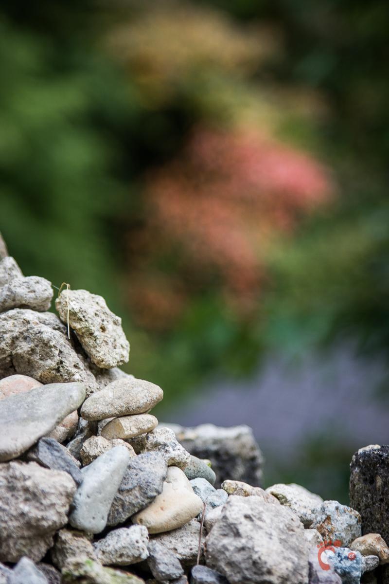 Yamadera à la faveur de l'automne