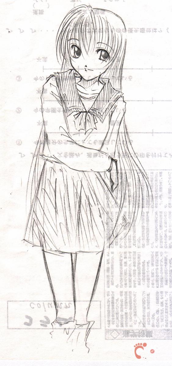 Sailor fuku - Dessins d'un lycéen japonais