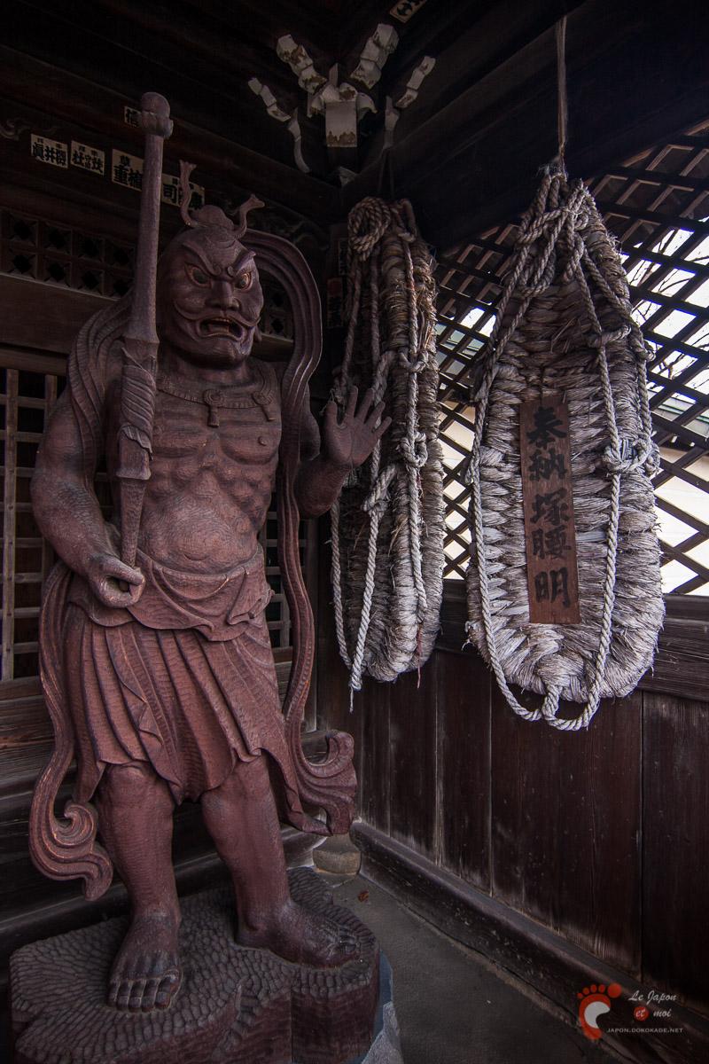 Takayama - Quartier des temples - Niô de Daio-ji 大雄寺