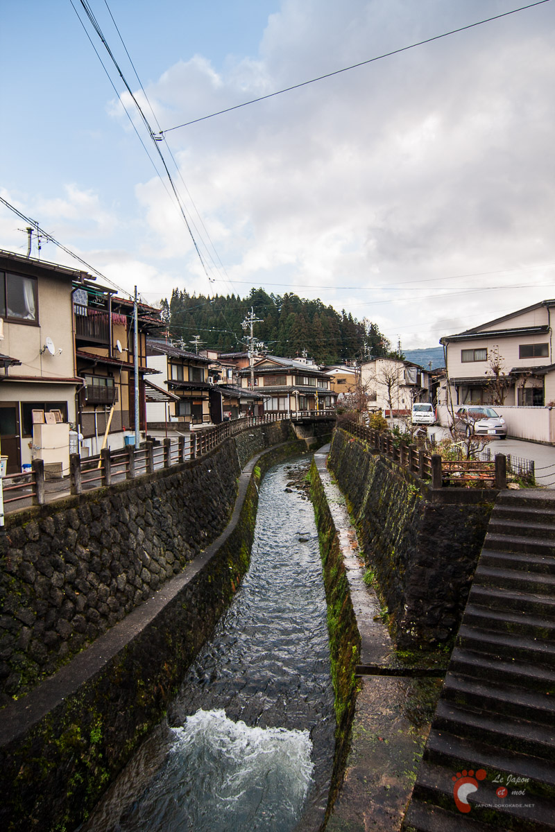 Takayama - Rivière Enako-gawa 江名子川