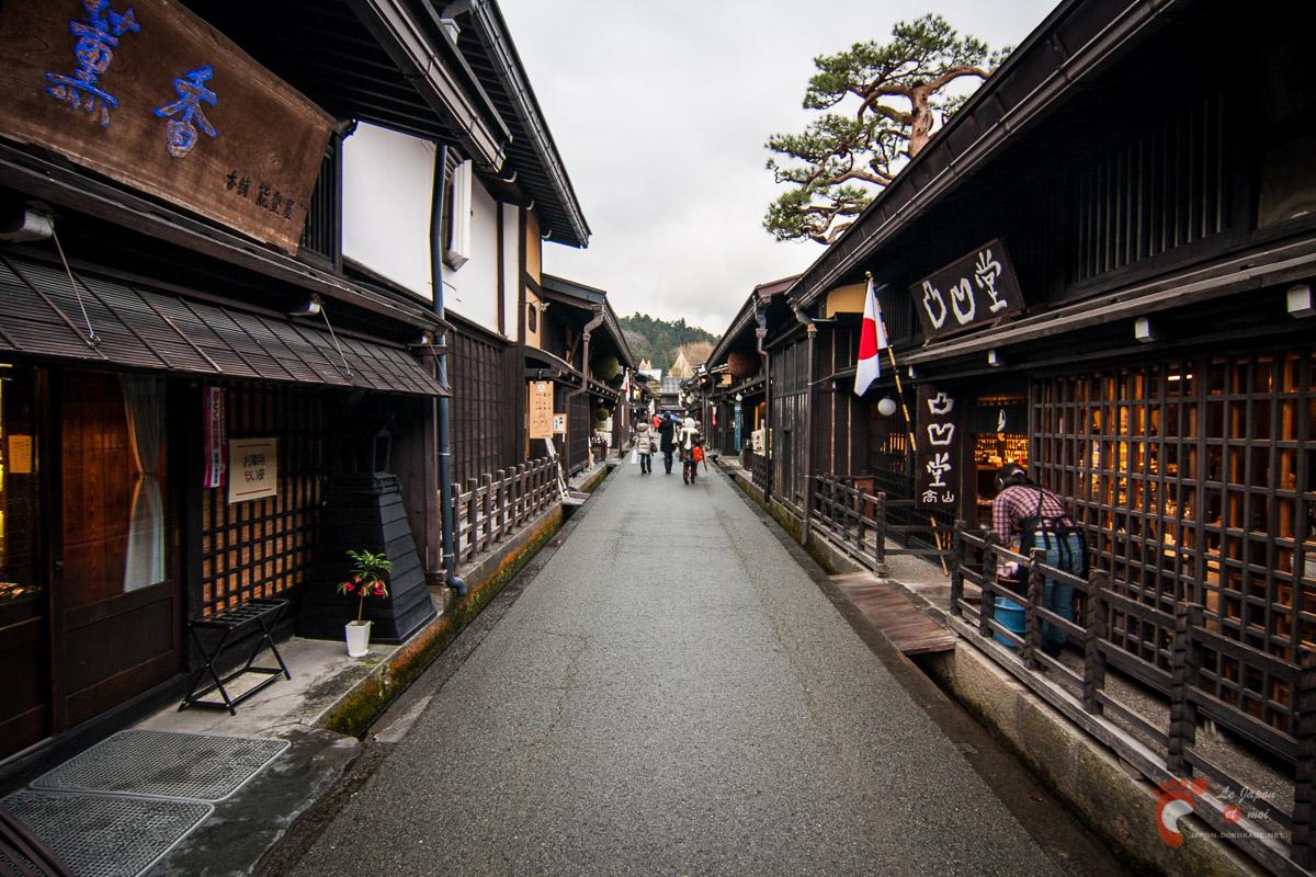 Takayama - Quartier préservé de San-machi 三町