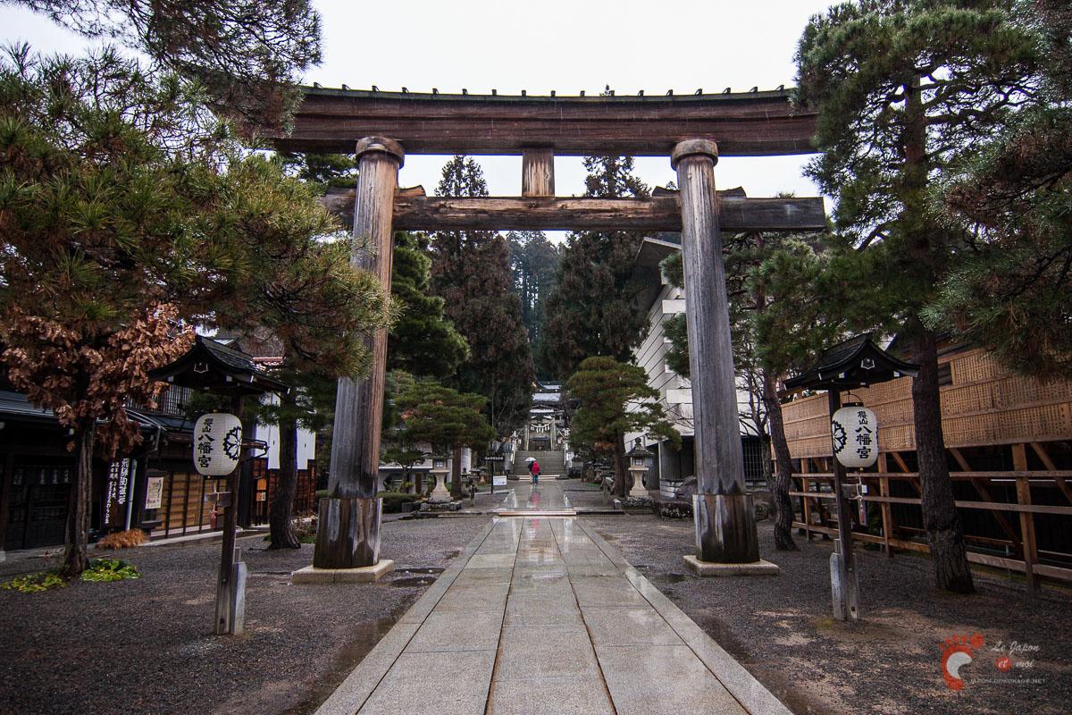 Takayama - Torii de Sakurayama Hachimangû