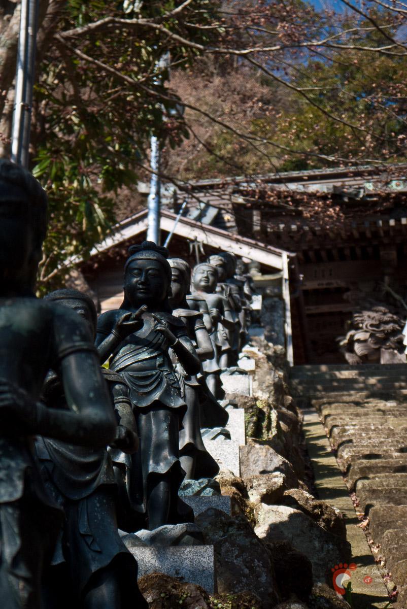 Escalier du temple Ô-yama