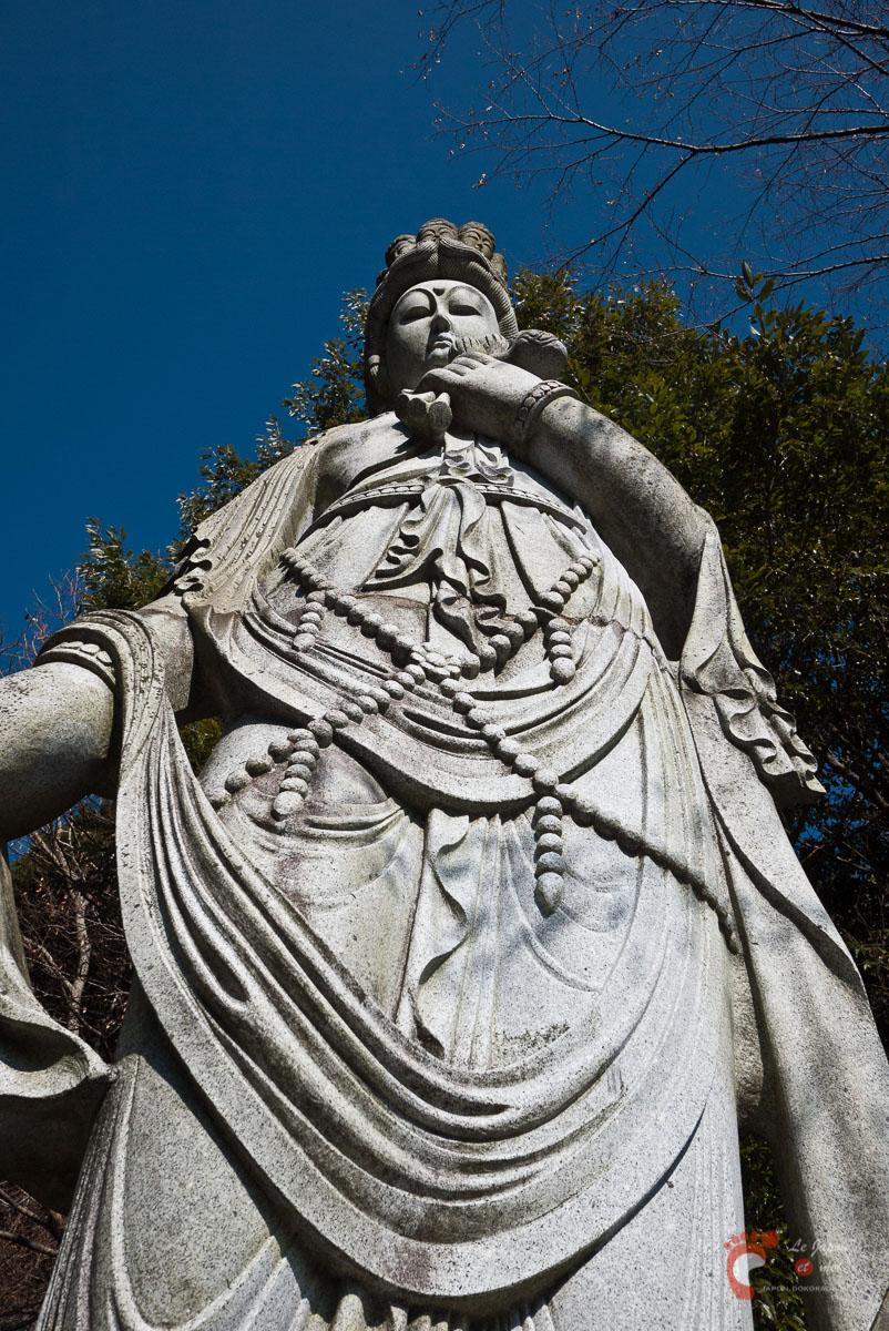Dans la montagne de Ô-yama - Kannon aux 11 visages