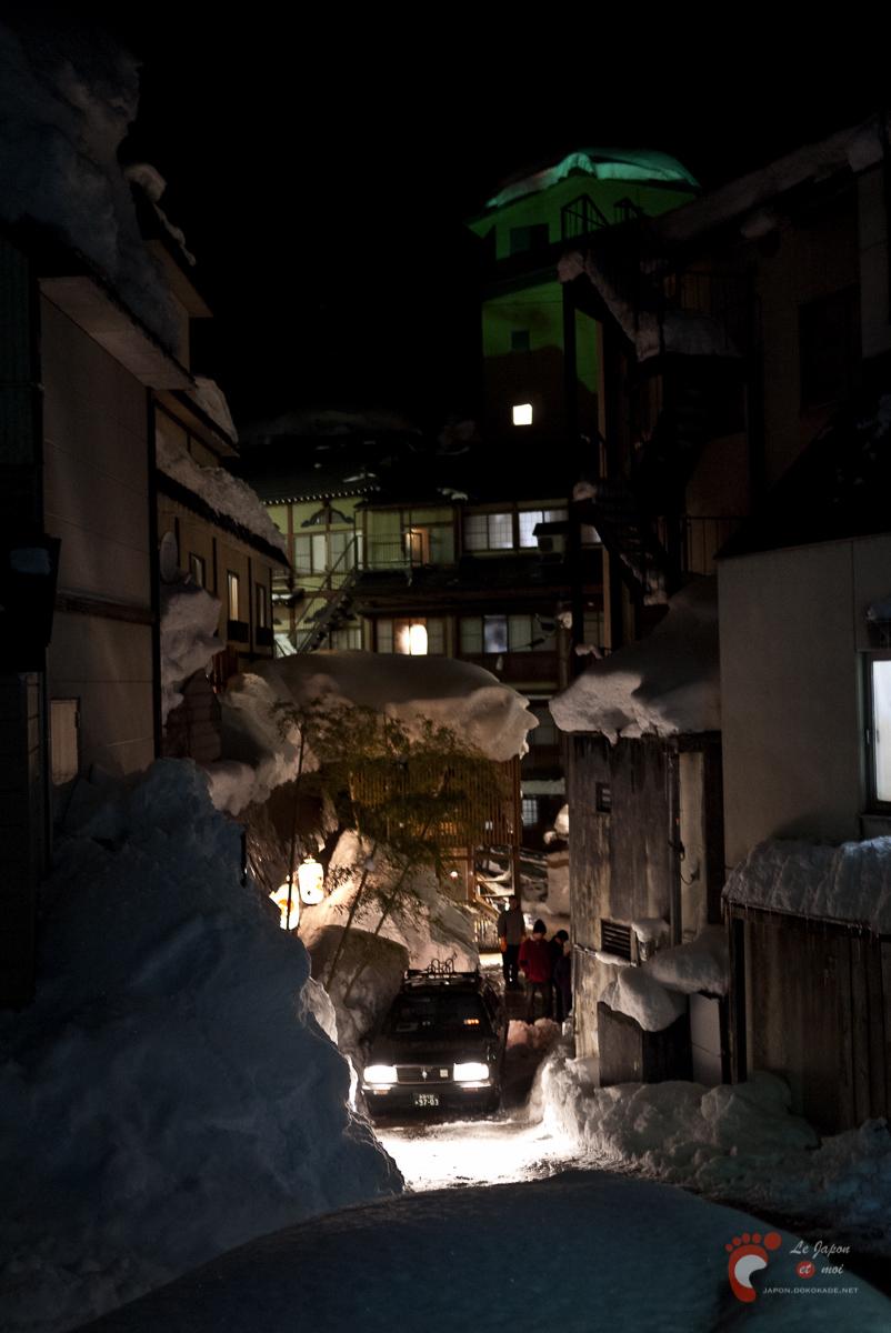 Dans les ruelles de Nozawa Onsen
