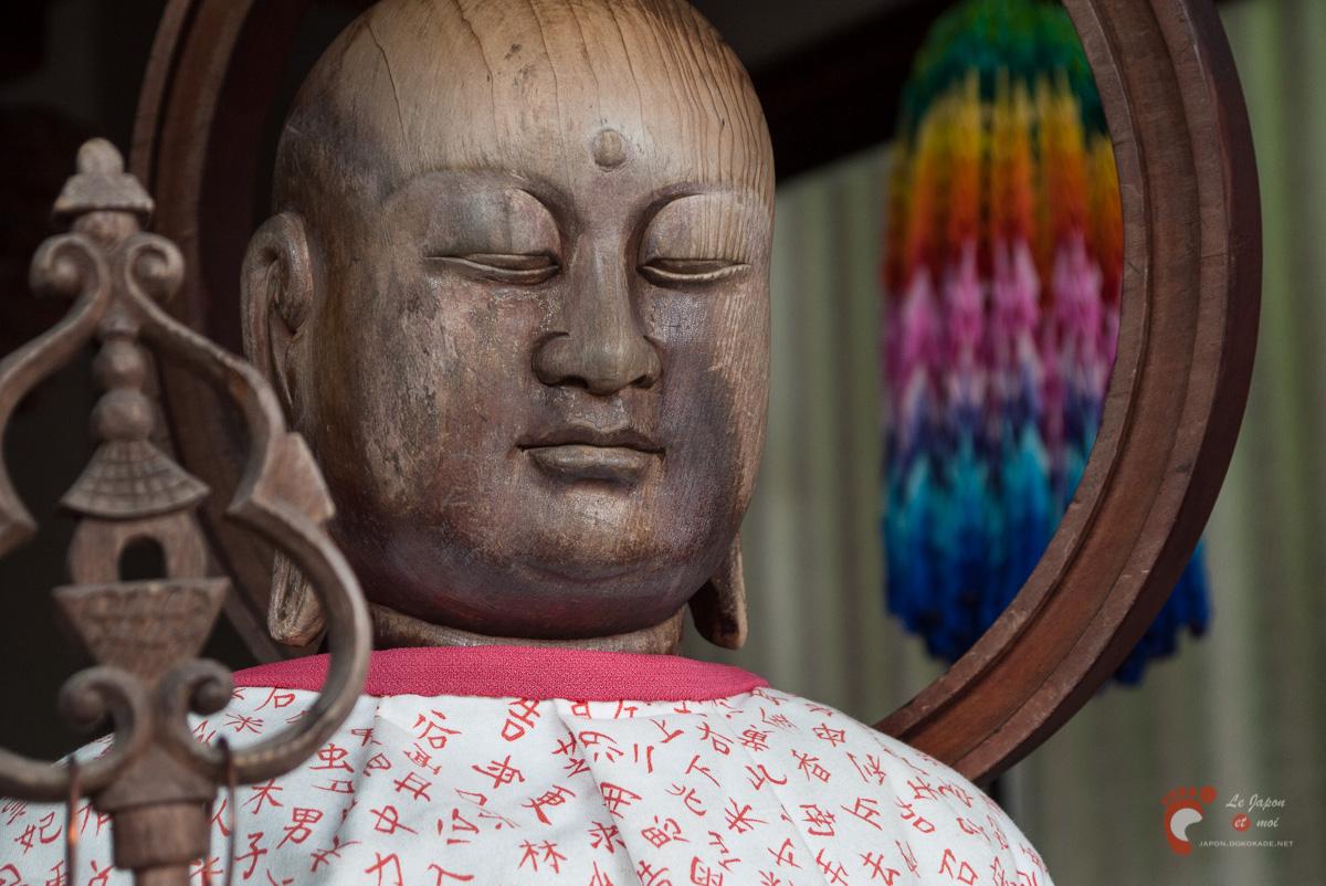 Le Jizô contre la sénilité du Renchaku-ji