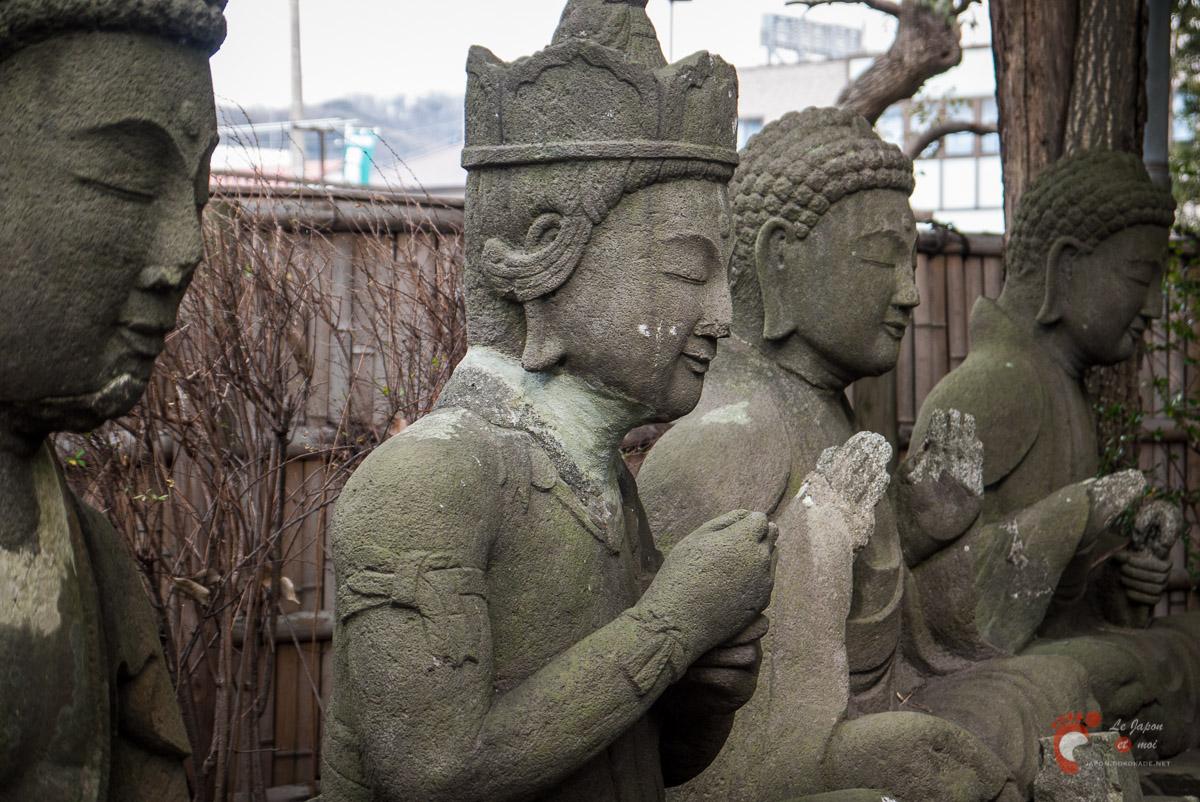 Ôiso Shigitatsu-an - Cinq bouddhas de sagesse