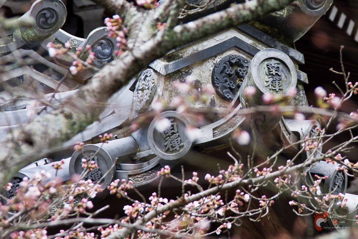 Nanzenji sous les cerisiers - Hattô