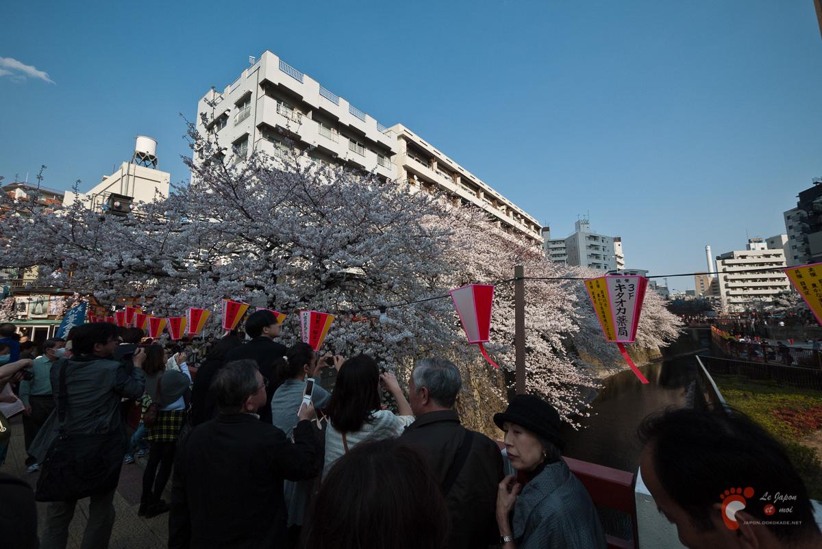 Naka-Meguro - Il y avait un sacré monde pour un lundi