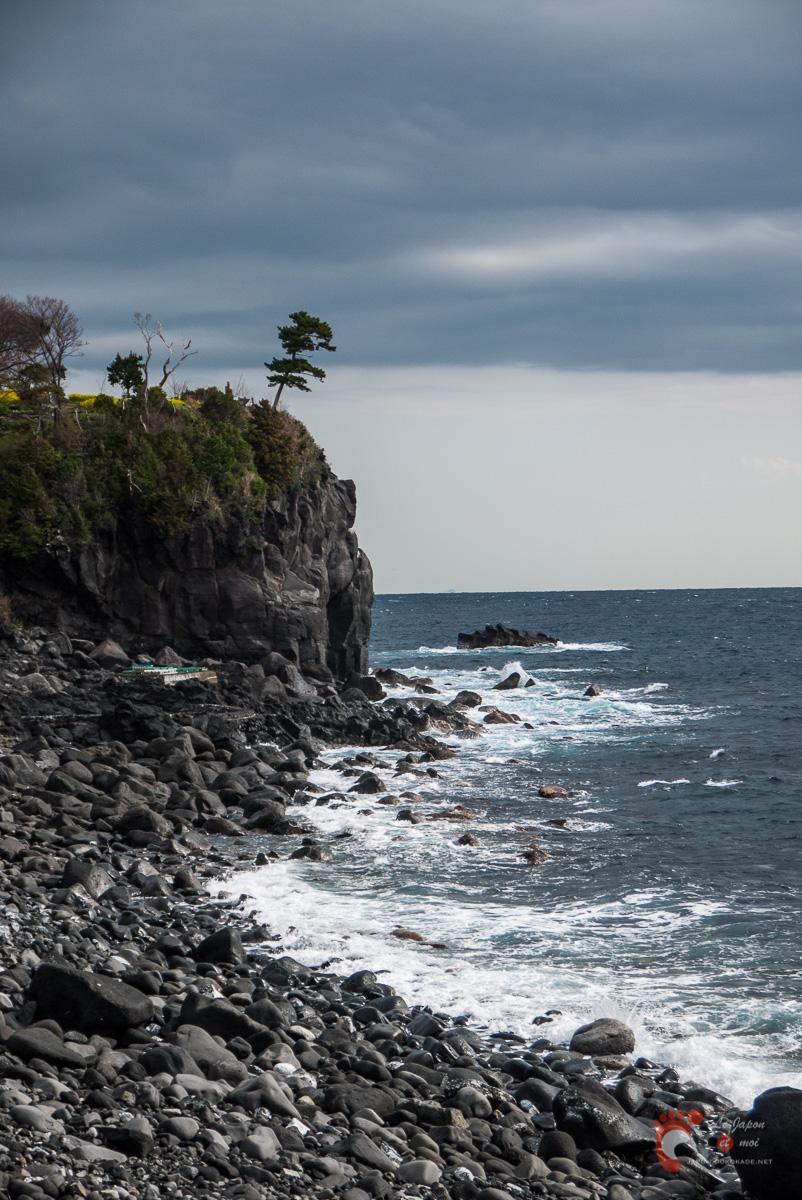 La côte près de Jôgasaki-Kaigan