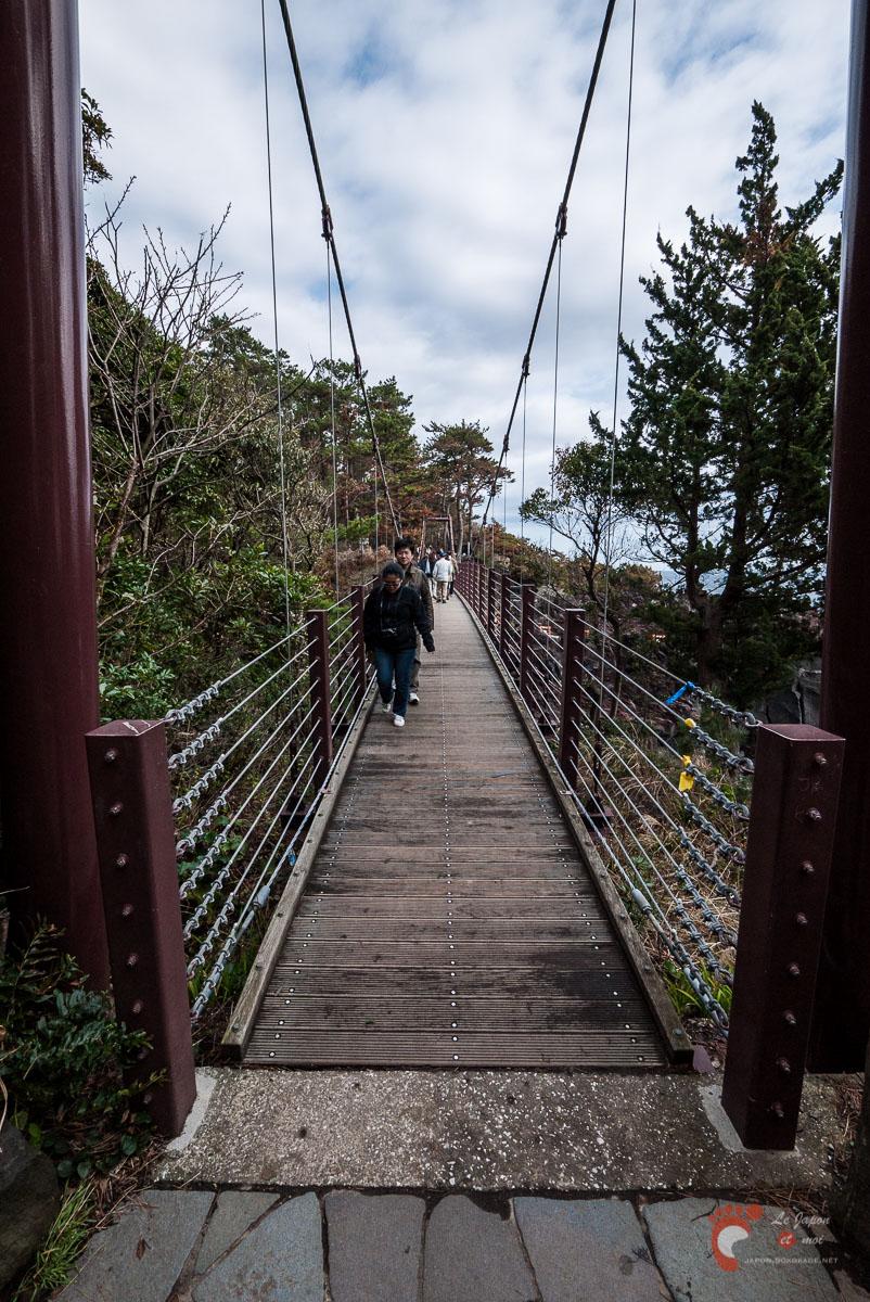 Jôgasaki-Kaigan - Le pont suspendu