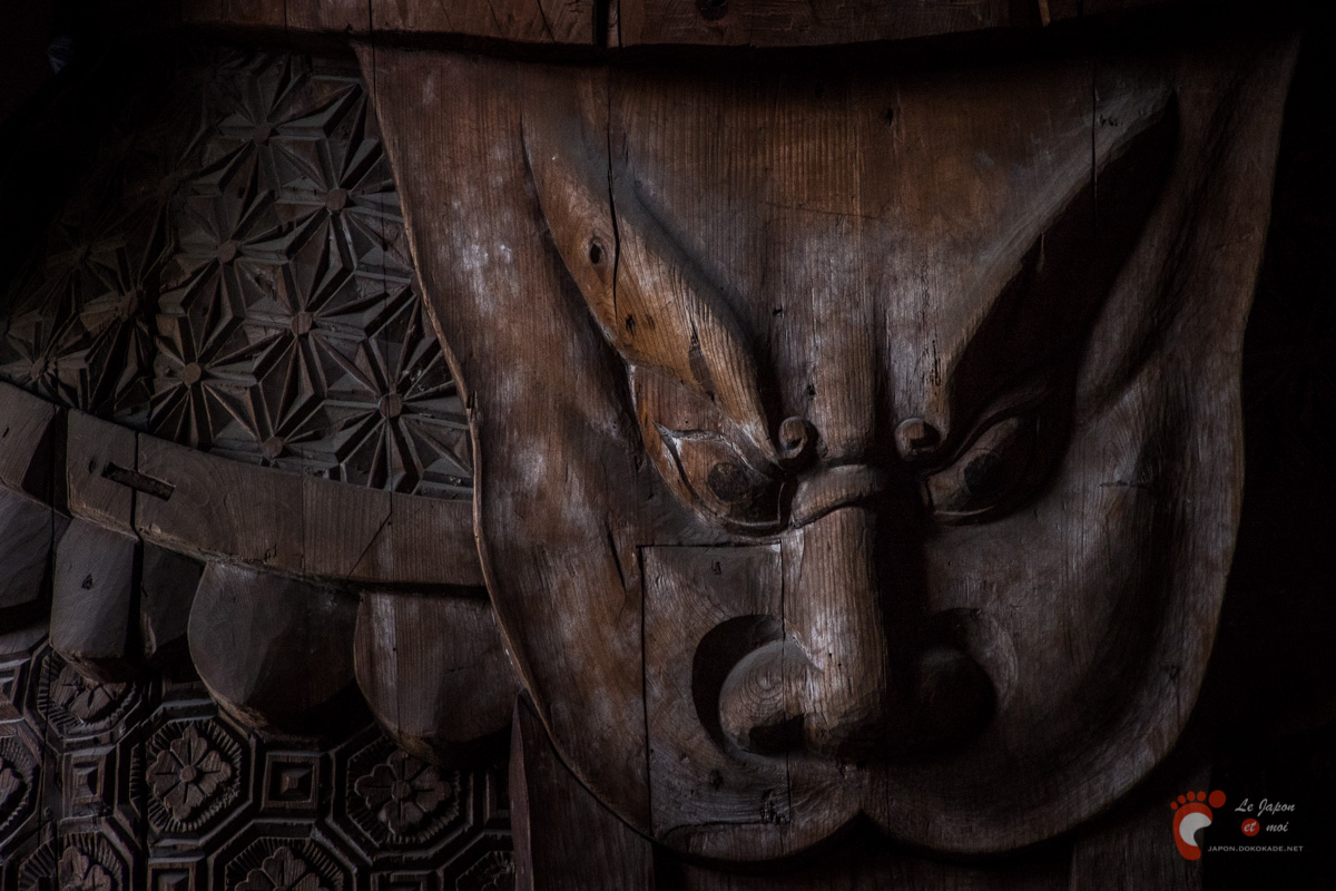 Nara - Tōdaiji : détail
