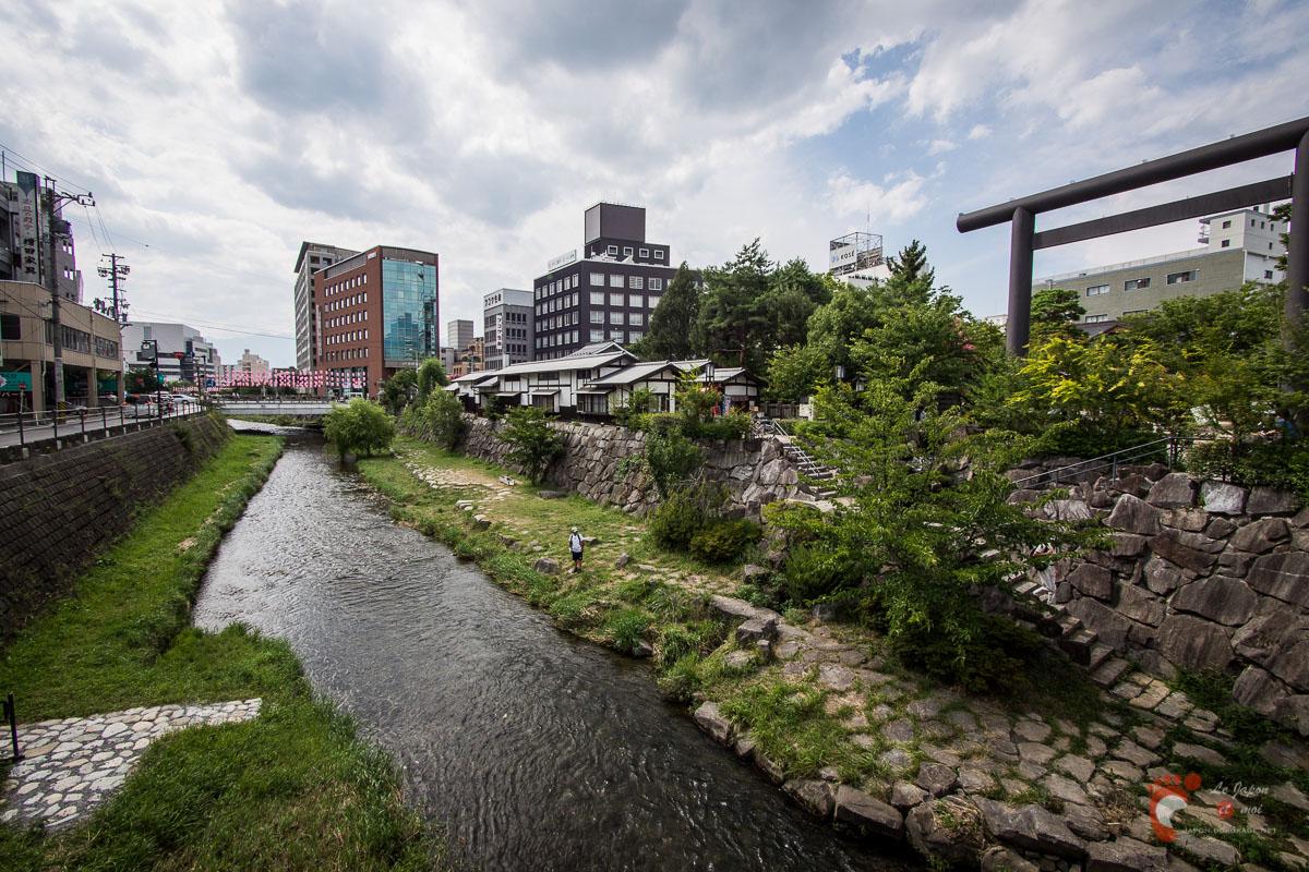 Matsumoto - Rivière Metoba-gawa