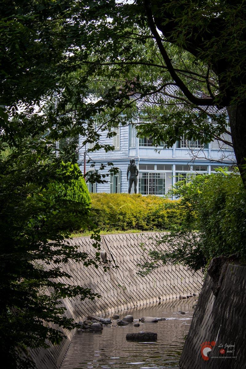 Matsumoto - Dans les environs de l'ancienne école Kaichi