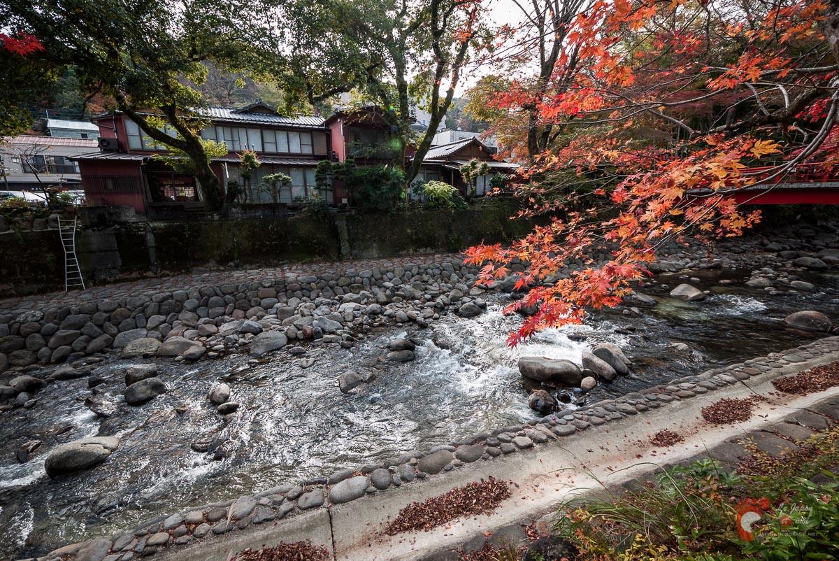 shuzenji onsen l 39 automne commence bercer de ses couleurs le lit de la rivi re dokokade japon. Black Bedroom Furniture Sets. Home Design Ideas