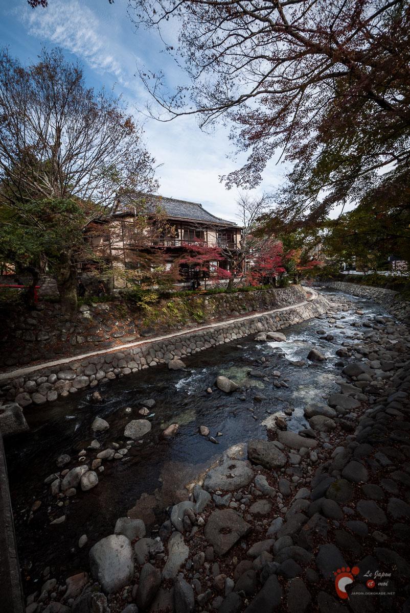 Shuzenji-Onsen - Les bords de rivière