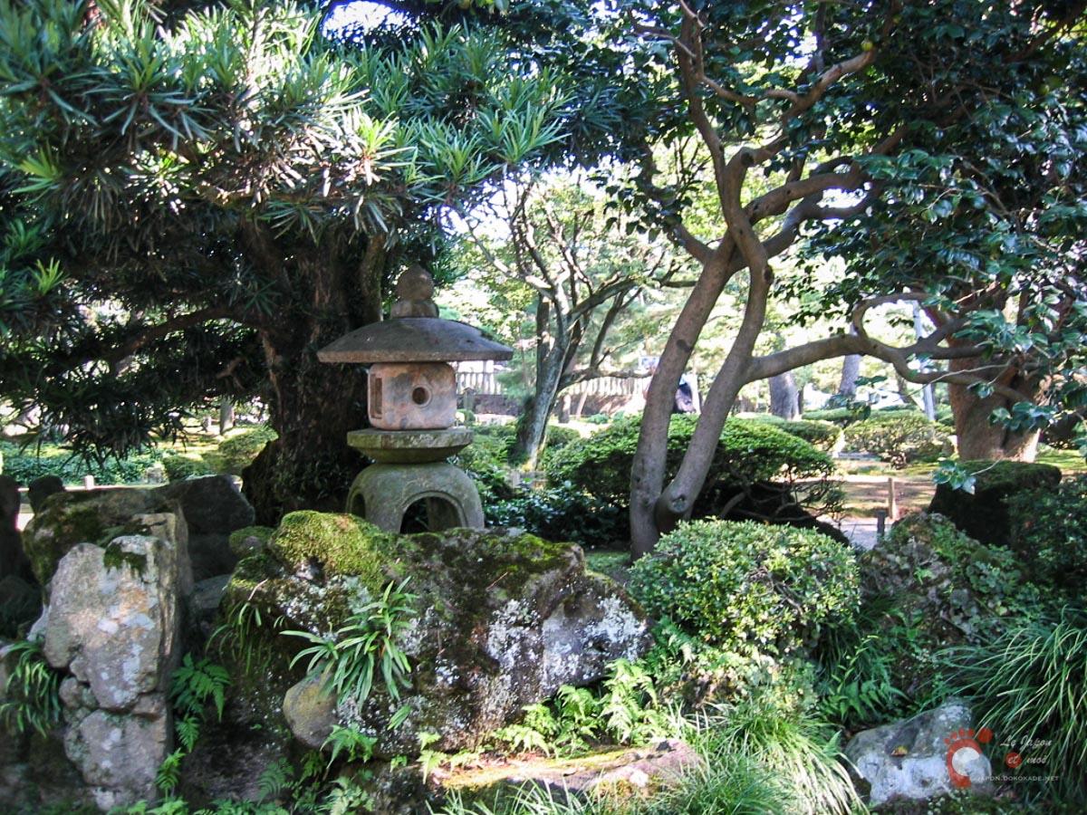 Le parc Kenrokuen à Kanazawa