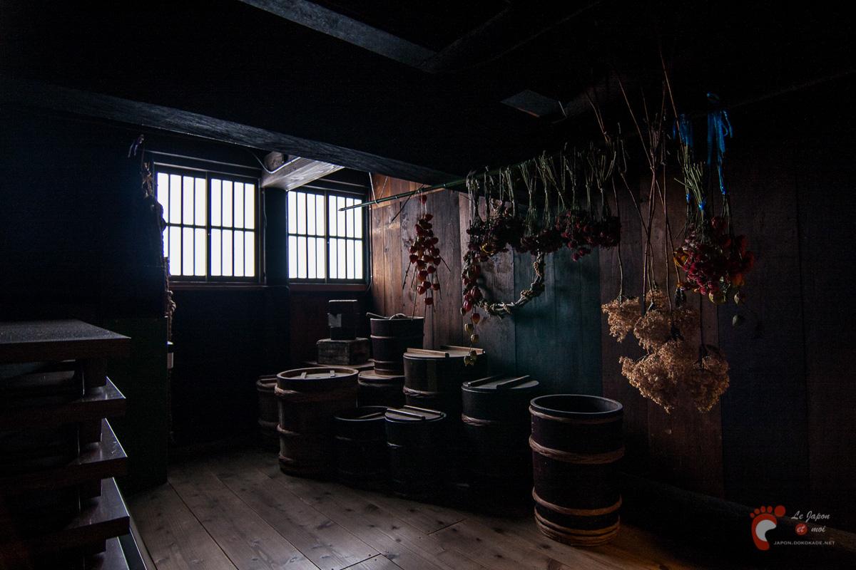 Shirakawa-go - Dans la maison de la famille Wada