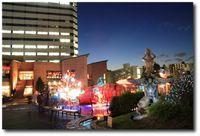Décorations de Noël à Triton Square