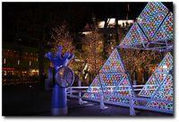 Décorations de Noël à Laqua