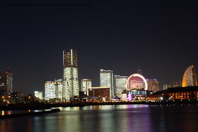 Yokohama de nuit