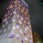 Immeuble Mikimoto Ginza 2 de nuit