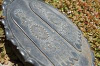 Temple Hasedera à Kamakura - Empreintes de pieds de Bouddha (?non vérifié?)