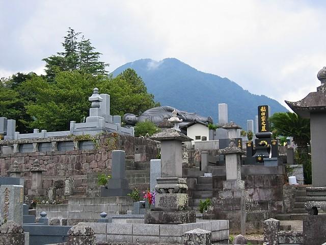 Le Nehan-zô, bouddha allongé de Shimabara