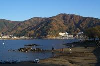 Les abords du lac Kawaguchi dans la région du mont Fuji