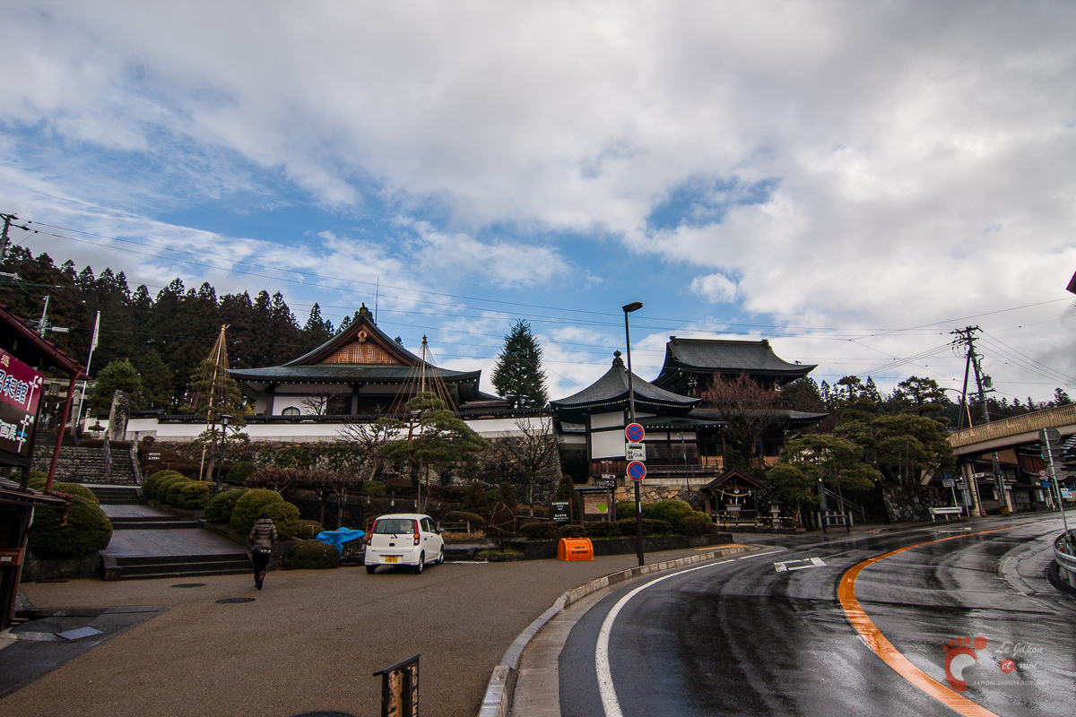 Takayama - Le début de la tera-machi, le quartier des temples.