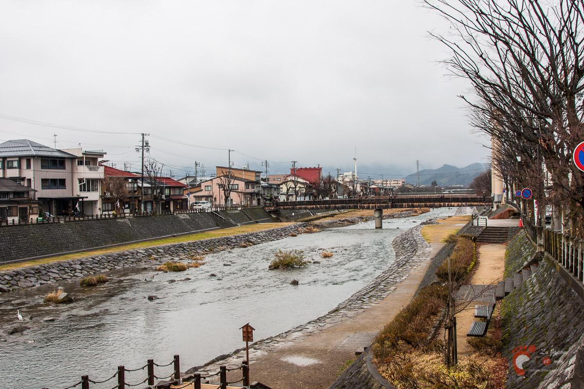 Takayama - La rivière Miyagawa 宮川